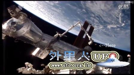 2015年11月21日国际空间站拍到彩色光球UFO的图片