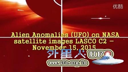 2015年11月15日太阳周围巨大UFO的图片