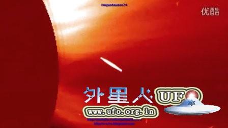 2015年12月4日太阳周围巨大长形UFO的图片