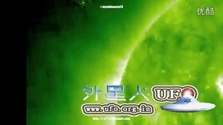 2015年11月25日太阳周围的UFO的图片