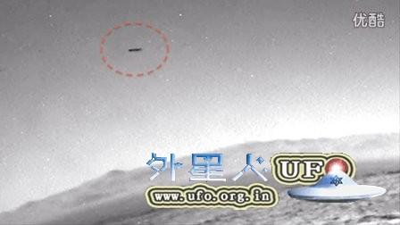2015年12月4日火星好奇号拍到UFO的图片