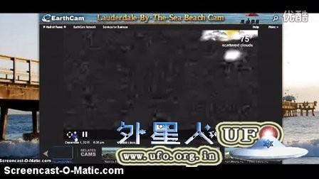 2015年12月1日佛罗里达三个白色光球UFO的图片