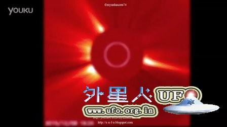 2015年12月8日太阳周围的巨大UFO的图片