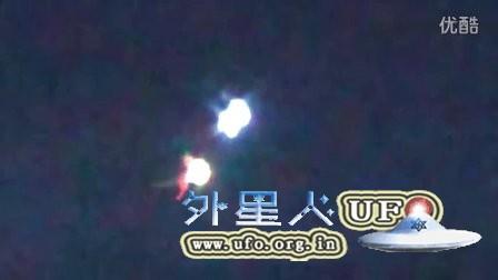 2015年11月26日加拿大奇怪巨大的发光团&红色发光UFO的图片