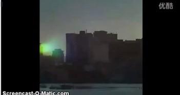 2015年12月12日圣地亚哥绿色大光球UFO的图片