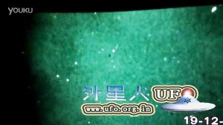 2015年12月19日高空两个白色光球UFO的图片