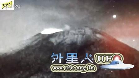 2015年12月23日飞入墨西哥火山的UFO(Popocatépetl)的图片