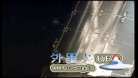2016年1月1日国际空间站拍到UFO的图片