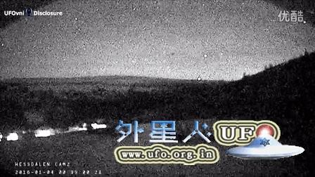2016年1月4日挪威神秘的低空光球UFO的图片
