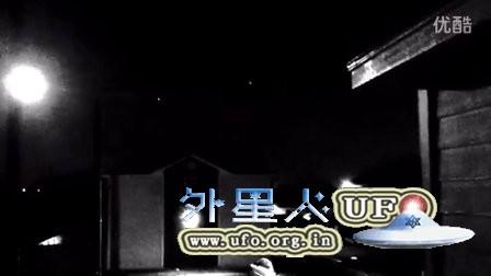 2016年1月1日元旦多个白色移动光点UFO的图片