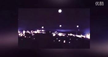 2016年1月2日麻省再现母舰释放UFO&回收的图片