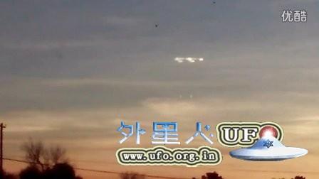 2016年2月15日拉斯维加斯形状奇特的发光UFO的图片