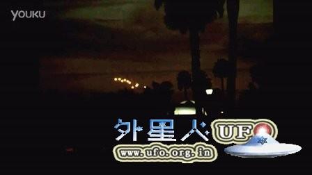 2016年2月16日亚利桑那11个黄色光球UFO的图片