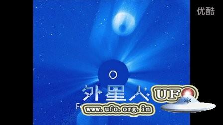 2016年2月14日监测太阳的卫星拍到2个太阳UFO的图片