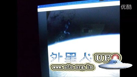 2016年2月16日国际空间站拍到丝状及梅花样UFO的图片
