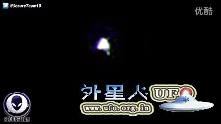 国际空间站拍到金字塔形UFO的图片