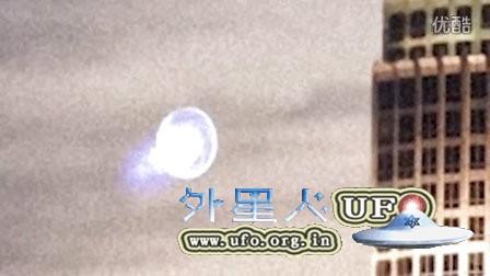 洛杉矶环形旋转光团UFO(真伪自辩)的图片
