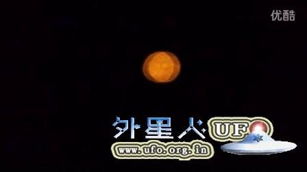 2016年2月9日加拿大正月初一夜黄色灯笼样光球UFO的图片