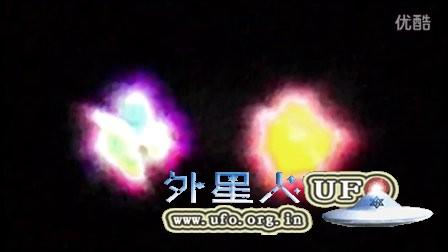 2016年2月8日日本彩色发光UFO的图片