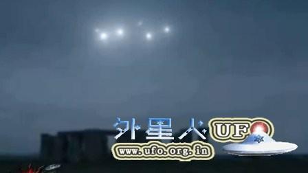 2016年1月英国巨石阵上空释放出7个UFO(真伪自辩)的图片