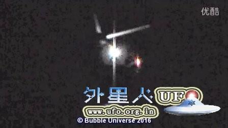 2016年1月19日空中多个彩色光团UFO对比分析的图片