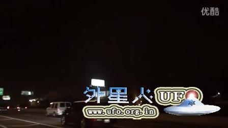 2016年2月1日芝加哥低空3个发光UFO的图片