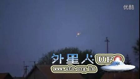 2016年1月俄罗斯3光点不规则闪光彩色UFO的图片