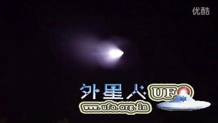 2016年1月20日发射的火箭还是UFO?的图片