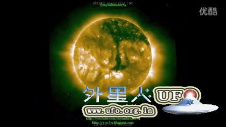 2016年1月19日太阳周围的UFO的图片