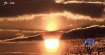 2016年1月21日斯洛伐克2个太阳?UFO?的图片