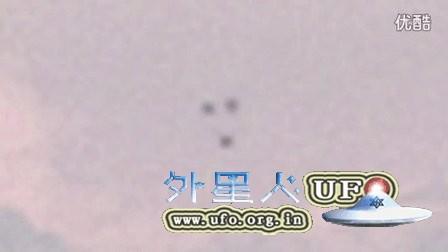 2016年1月伦敦3个不发光UFO不断变换三角形的图片