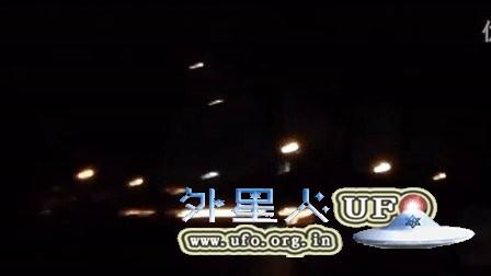 2016年1月21日亚利桑那4个缓慢移动的光球UFO的图片