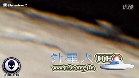 2016年1月11日月球表面的悬浮UFO的图片