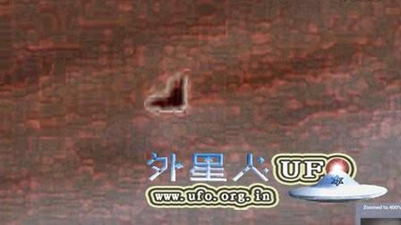 木星上巨大三角形物体UFO的图片