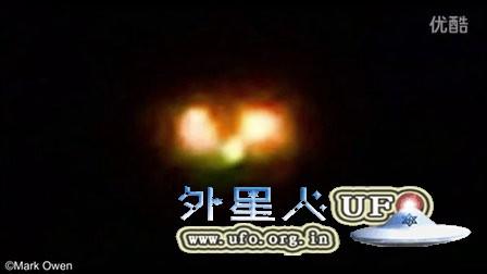 2016年2月28日荷兰一对橙色光球UFO的图片