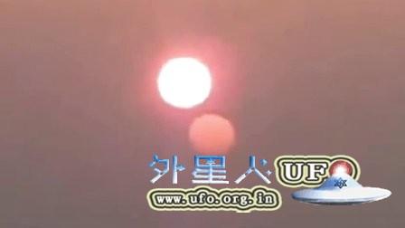 2016年3月2日太阳旁的红色圆球–第二个太阳UFO?的图片