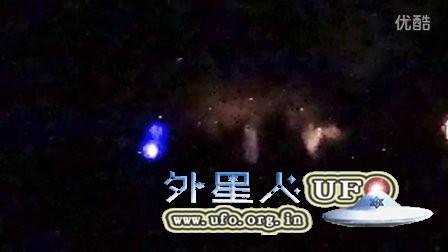 2016年澳大利亚彩色放大光团UFO的图片