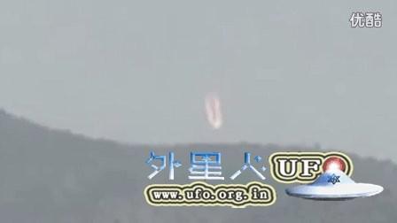 2016年加州降落的火球UFO的图片