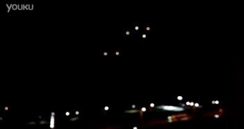 2016年3月6日以色列6个黄色光球UFO的图片