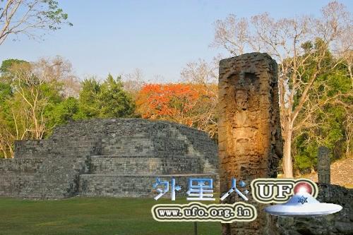 洪都拉斯科科潘玛雅金字塔古迹遗址的图片 第2张