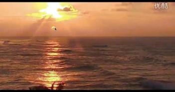 2016年2月28日夏威夷太阳落山时第二个太阳UFO的图片