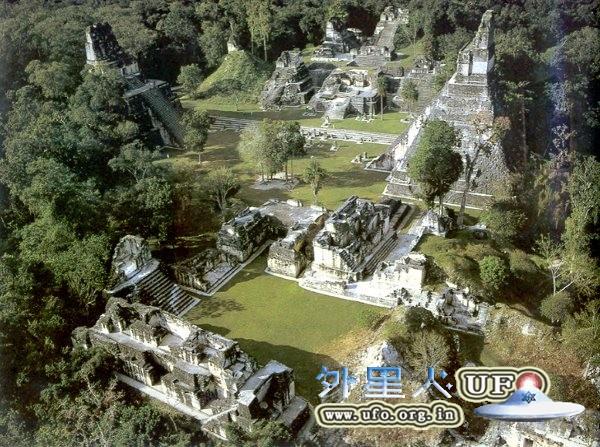 危地马拉tikal蒂卡尔古城的图片 第1张
