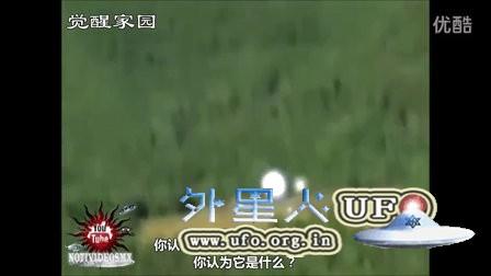 意大利大光球UFO释放小光球UFO过程的图片