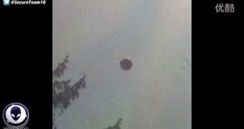 2016年4月6日美国多处拍到球状UFO的图片