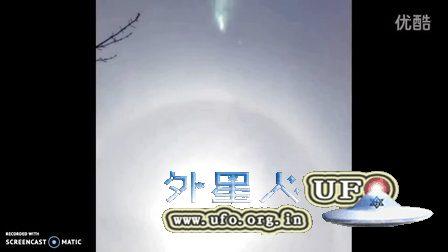 2016年4月11日 日晕周围的飞碟UFO的图片
