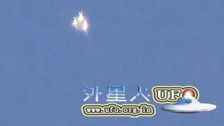 2016年4月12日彩色变色放大光团UFO的图片