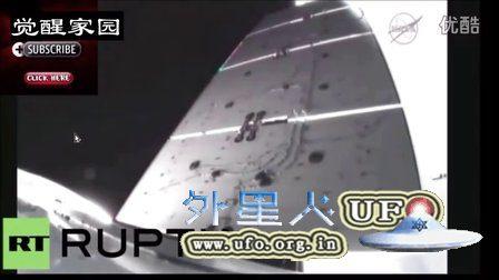 2016年4月8日美国SpaceX发射时拍到多个UFO的图片