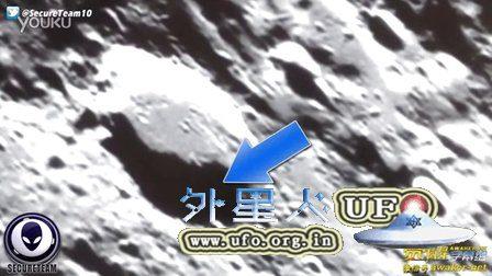 业余天文学家拍到外星人在月球上的UFO活动的图片