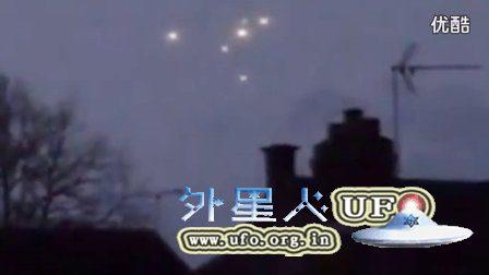 脉冲与不明飞行物合并在一起UFO在英国的图片