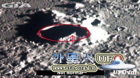 阿波罗12号月球任务拍到环形山建筑 UFO的图片
